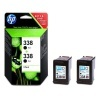Cartridge HP CB331EE black, duopack, Vivera (No.338)