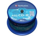 CD-R Verbatim Datalife plus, 700MB, 52x (baleni 50 ks spindl)