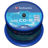 CD-R Verbatim DataLife, 700MB, 52x (balení 50 ks spindle)
