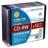 CD-RW, 12x, 80 min., 700 MB, slim box
