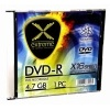 DVD-R, 16x, 120 min, 4,7 GB, slim box