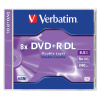 DVD+R Verbatim 8,5 GB, 2,4x, double layer, jewel