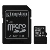 Karta micro SDHC Silicon Power, 16 GB, class 4 + adaptér SD