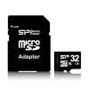 Karta micro SDHC Silicon Power, 32 GB, class 4, + adaptér SD